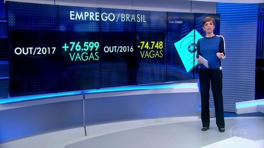 Brasil registra saldo positivo na geração de emprego formal