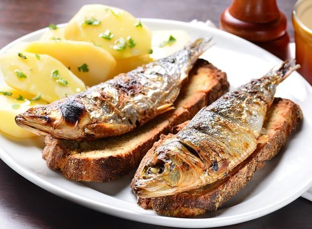 O prato de origem portuguesa é destaque no Festival da Sardinha  (Foto: Divulgação)
