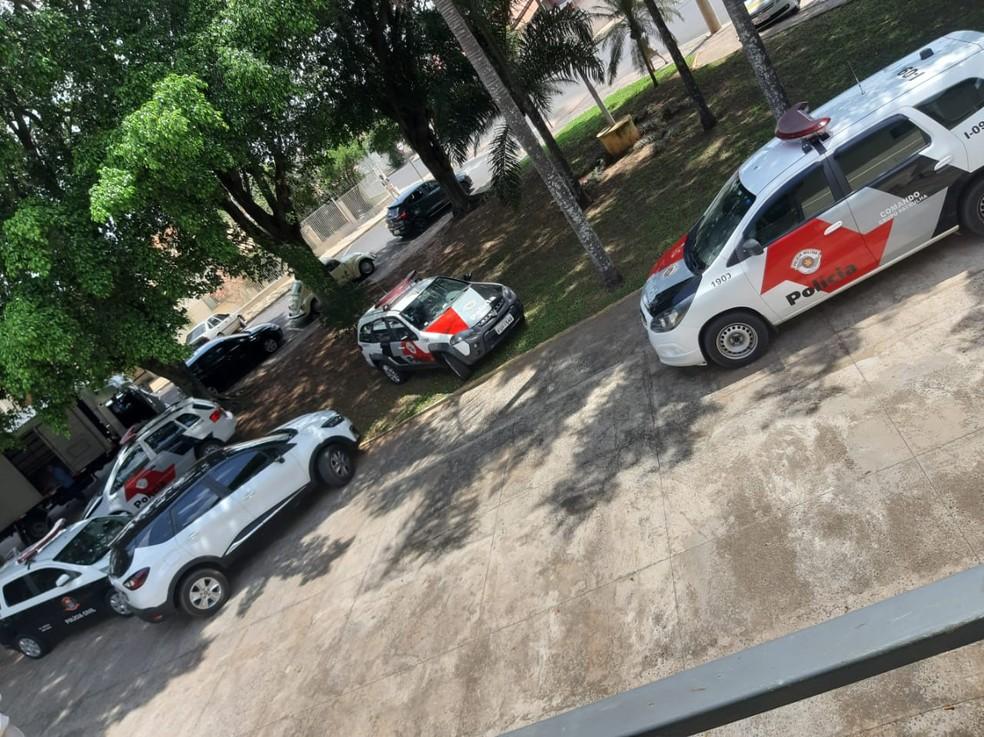 Mulher já havia registrado seis boletins de ocorrência contra o filho por violência doméstica — Foto: Polícia Civil/Divulgação