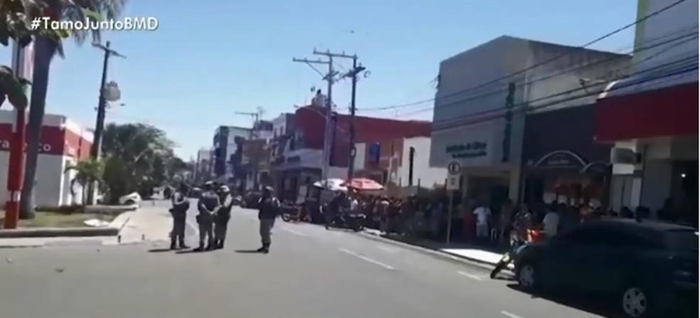 Caso ocorreu na cidade de Paulo Afonso, no norte da Bahia (Foto: Reprodução/ TV Bahia)