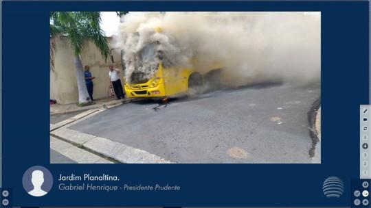 Investigação das causas de problema em ônibus compete a empresa concessionária do transporte coletivo, diz Prefeitura