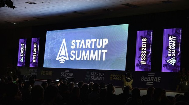 O Startup Summit, evento do Sebrae Nacional, foi realizado em Florianópolis (Foto: Sebrae Nacional)