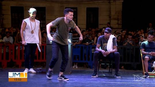 Batalha de dança de rua movimenta Centro Histórico de São Luís
