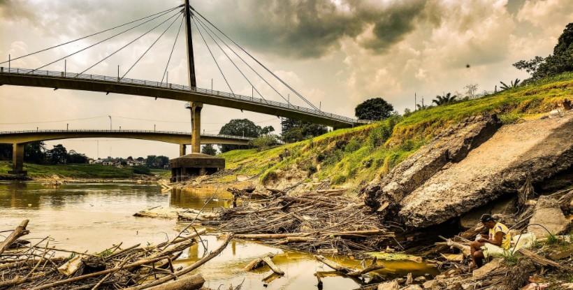 Rio Acre está há mais de 50 dias abaixo dos 2 metros na capital e situação é crítica, diz Defesa Civil
