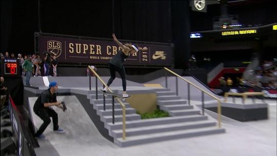 Título escapa na manobra final, e Letícia Bufoni é prata na Liga Mundial de Skate