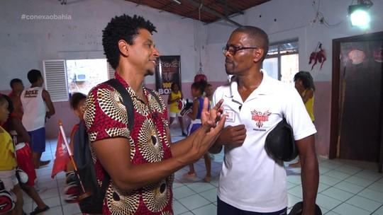 O 'Vumbora' conhece projetos sociais do bairro da Polêmica