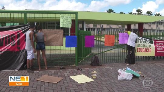 Aulas são suspensas no Recife em dia de mobilização pela educação