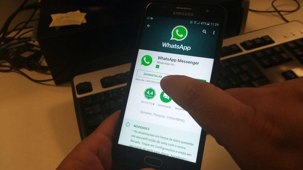 Segundo magistrado, facção usou um grupo de WhatsApp para recrutar interessados em participar de um assalto em Natal (Foto: Igor Jácome/G1)