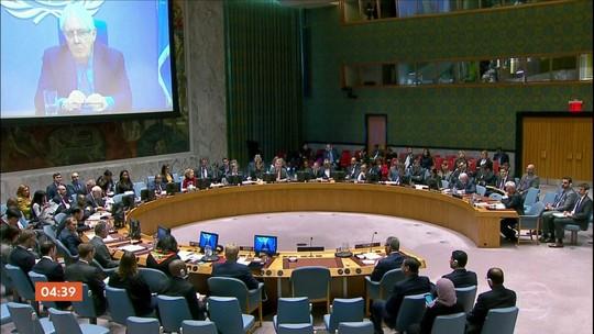ONU aguarda cessar-fogo para entrar com ajuda humanitária no Iêmen