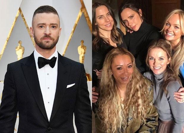 Justin Timberlake revelou que já ficou com uma das Spice Girls (Foto: Getty Images e Reprodução)