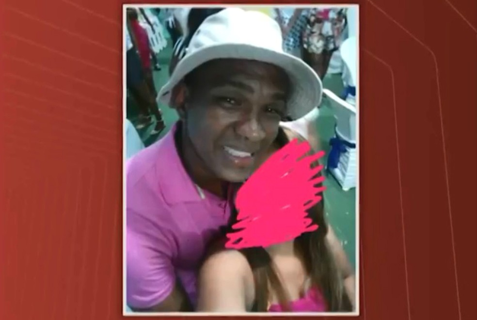 Cabo Gonzaga foi um das vítimas do grupo da quadrilha de Antônio Caíque — Foto: Reprodução/TV Bahia