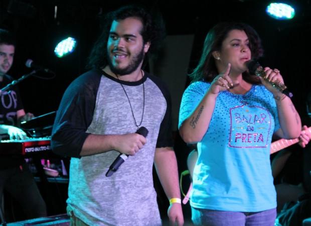 Preta Gil e Francisco (Foto: Alex Palarea/Agnews)