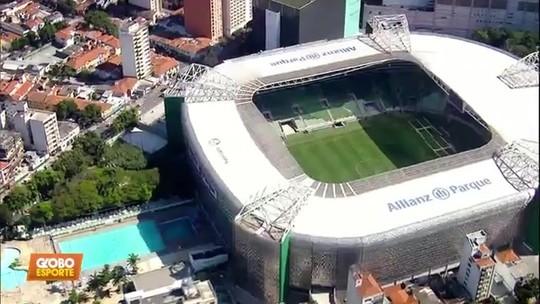 Palmeiras jogará na arena contra o Flamengo mesmo com show no local um dia antes