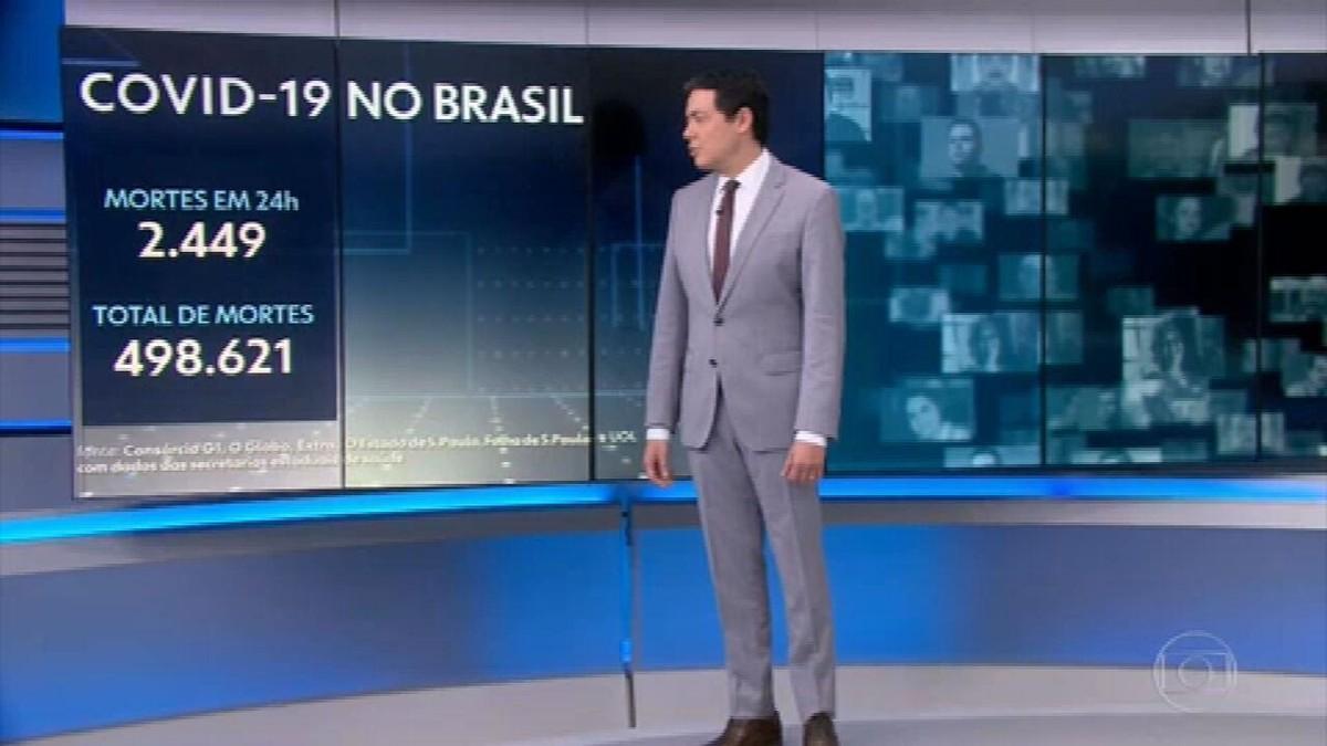 Brasil se aproxima de 500 mil mortes na pandemia e bate recorde de casos em 24 horas