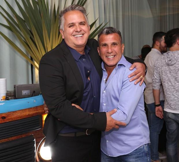 Orlando Morais e Eri Johnson (Foto: Reginaldo Teixeira/ CS Eventos Divulgação)