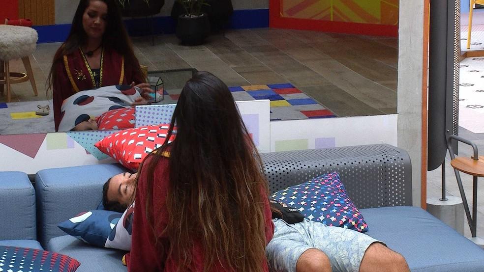 Juliette diz que Gilberto está com ciúmes de Fiuk: 'Do amor da gente' — Foto: Globo