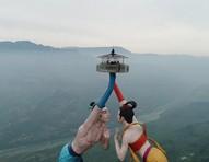Flying Kiss: amor e aventura na nova atração turística da China