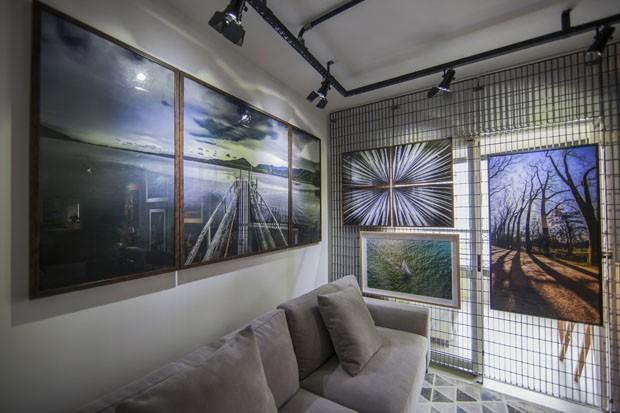 Apartamento funciona como morada e galeria de arte em São Paulo (Foto: Divulgação)