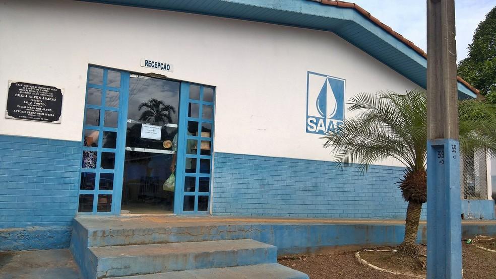 Contribuintes que pagaram a conta com valores errados podem procurar o Saae (Foto: Magda Oliveira/G1)