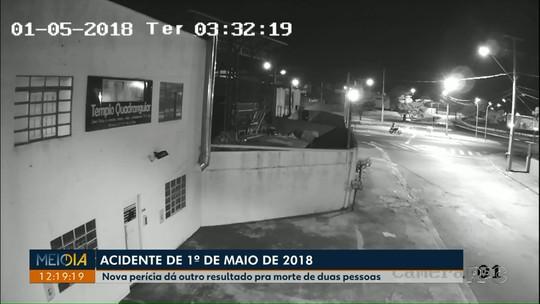 Nova perícia sobre acidente que deixou dois mortos em Londrina aponta que motorista não dirigia em alta velocidade