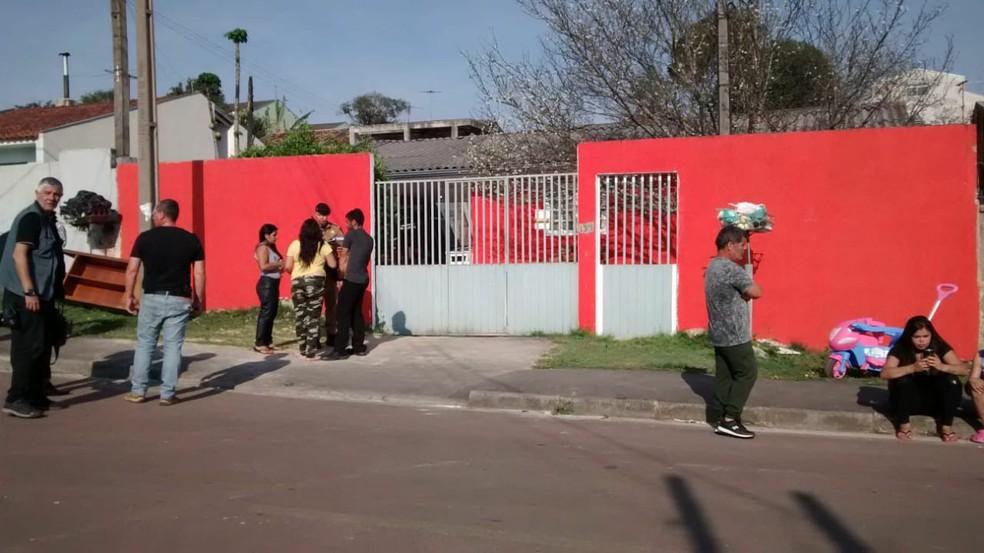 Mulher de 55 anos é morta por idoso de 70 anos em Piraquara, de acordo com a Polícia Civil  Foto: Filipe Rosa/ RPC