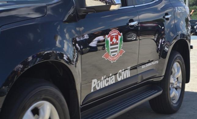 Viatura da polícia civil de São Paulo