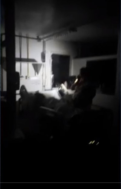 Hospital Dório Silva, na Serra, ES, fica sem energia elétrica