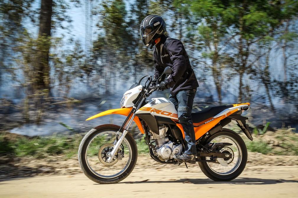 Honda NXR 160 2018 (Foto: Divulgação)
