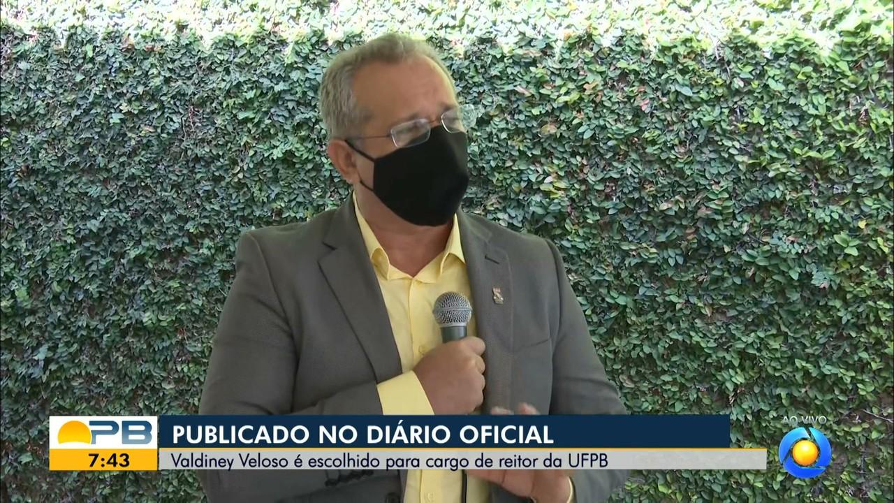 Professor nomeado reitor da UFPB dá entrevista ao Bom Dia Paraíba