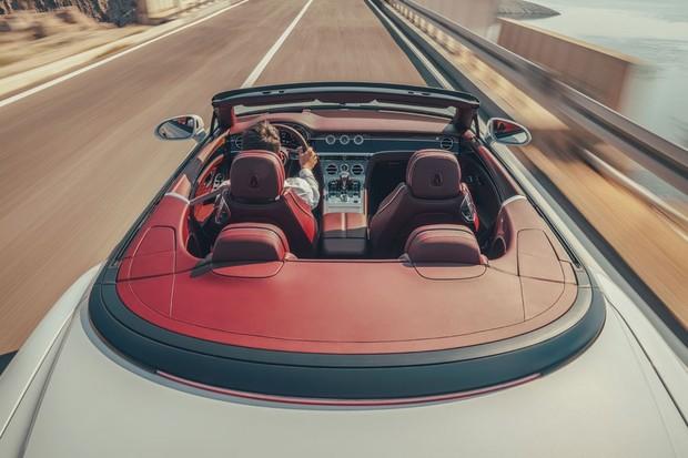 Bentley Continental GT conversível 2019 (Foto: Divulgação/Bentley)