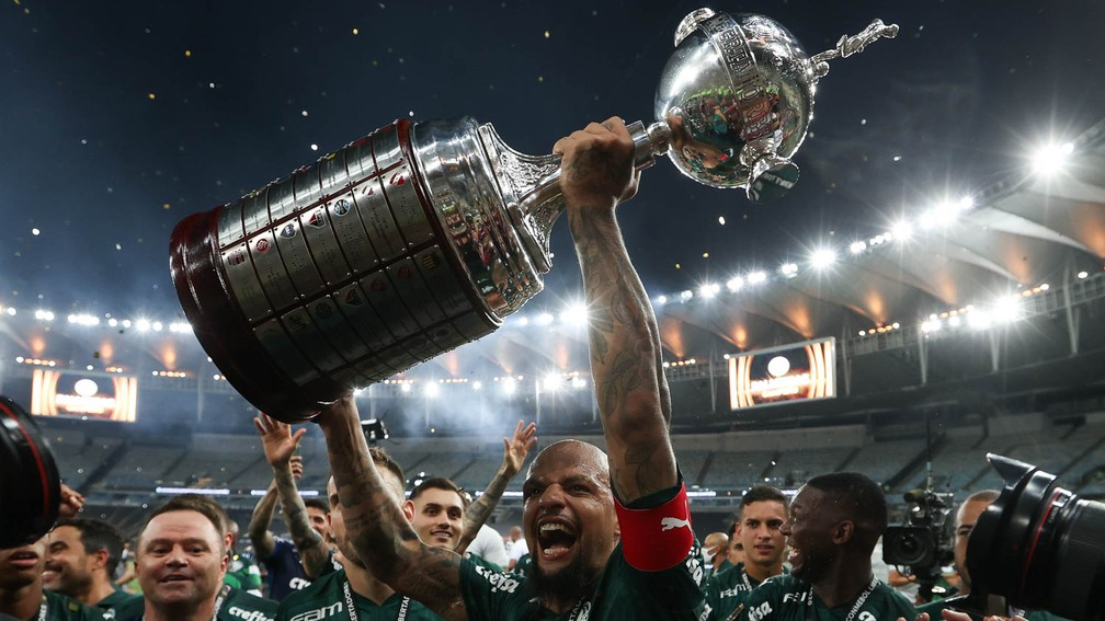 Palmeiras foi o campeão da edição de 2020 da Libertadores — Foto: Cesar Greco / Ag. Palmeiras