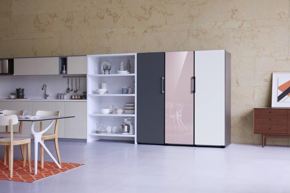 Samsung lança refrigerador personalizável ideal para cozinhas pequenas (Foto: Divulgação)