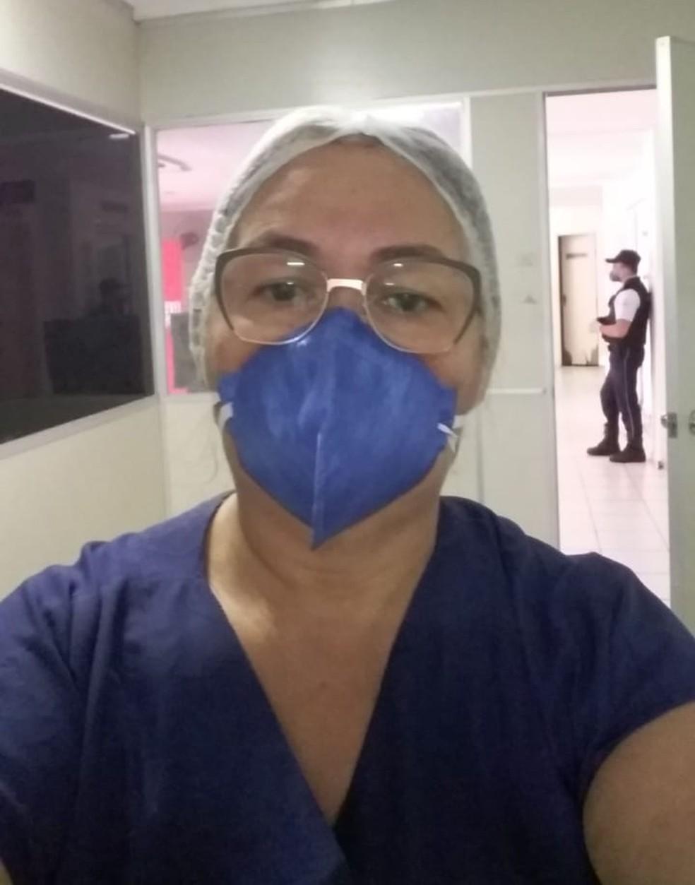 Dilnice trabalhava diretamente no combate à doença em Mossoró — Foto: Cedida