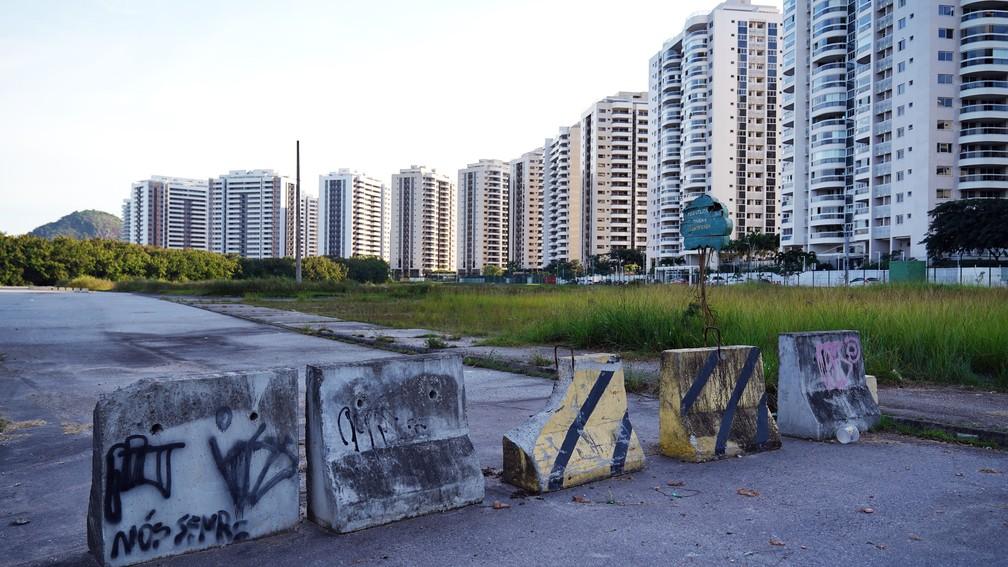 5 anos depois das Olimpíadas do Rio, apenas um terço dos apartamentos da Vila dos Atletas foi vendido  — Foto: Marcos Serra Lima/G1