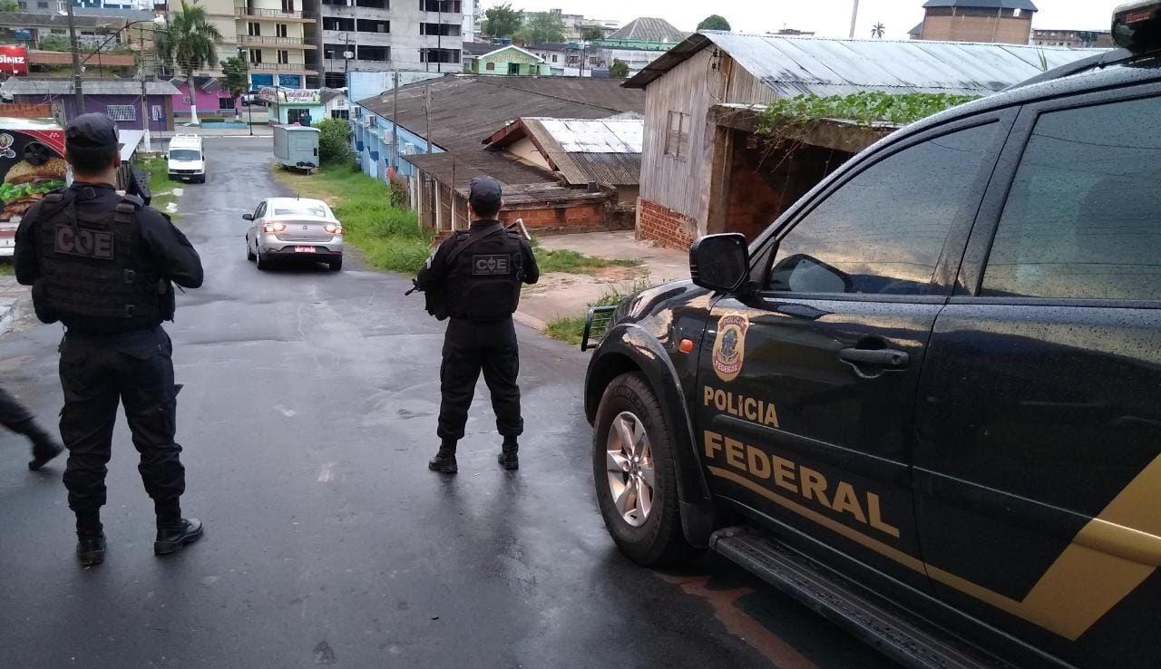 Em operação, PF identifica servidor do MP-AC que passava informações sigilosas a organização criminosa
