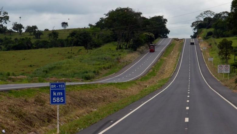 infraestrutura-rodovia-br-153 (Foto: DNIT)