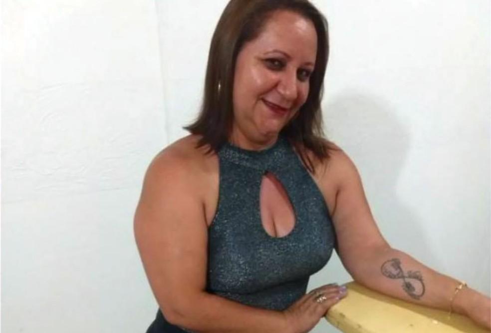 Maria Sivoneide, de 44 anos, morta em Artur Nogueira — Foto: Reprodução/EPTV