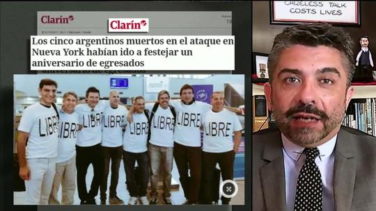 5 argentinos estão entre os 8 mortos em ataque terrorista em NY