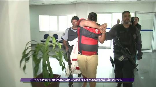 16 suspeitos de planejar invasão ao Maracanã são presos