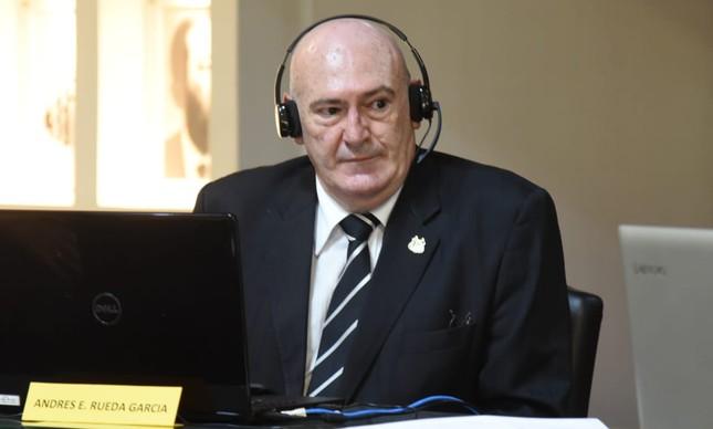 Andrés Rueda, presidente do Santos