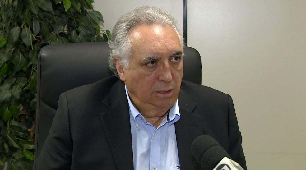 O secretário de Saúde em Campinas, Cármino de Souza (Foto: Reprodução / EPTV)