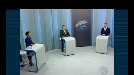 Candidatos ao 2º turno participam de debate para prefeitura de Belém