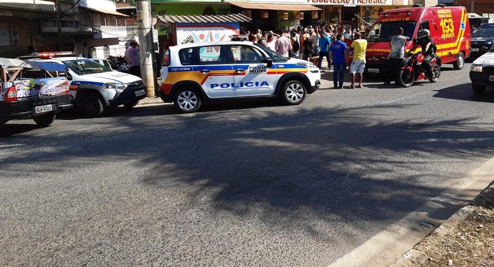 Local onde o crime aconteceu — Foto:  Israel Salles/ Arquivo Pessoal