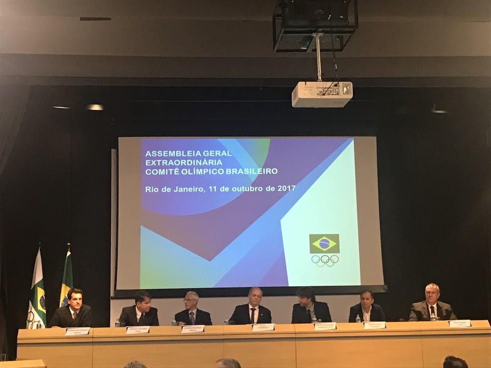 Assembléia Extraordinária Geral do COB (Foto: Gabriel Fricke)