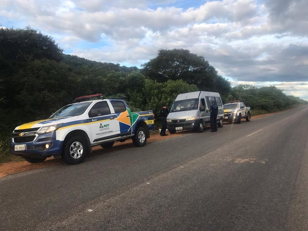 ANTT fecha pontos de venda clandestina de passagens no Piauí. — Foto: Divulgação/ANTT