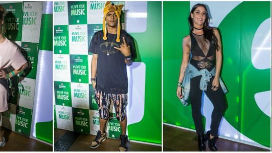 Atores contam quem são eles no rolê do Rock in Rio