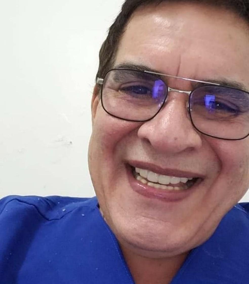 Fernando Gomes foi morto a tiros dentro do carro em Calumbi — Foto: WhatsApp/TV Asa Branca/Reprodução