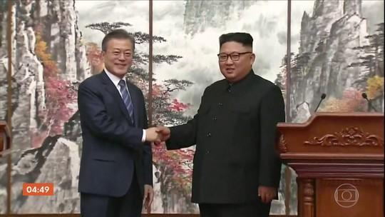 Encontro entre líderes das coreias do Norte e do Sul termina em clima amistoso