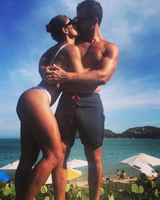 Juliana Paes e Carlos Eduardo Baptista (Foto: Reprodução/Instagram)