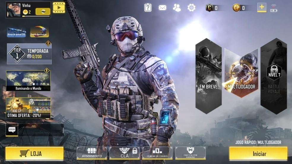 Call of Duty Mobile chegou batendo recordes — Foto: Reprodução/Felipe Vinha